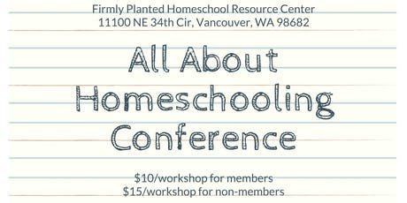 All About Homeschooling Conference tickets