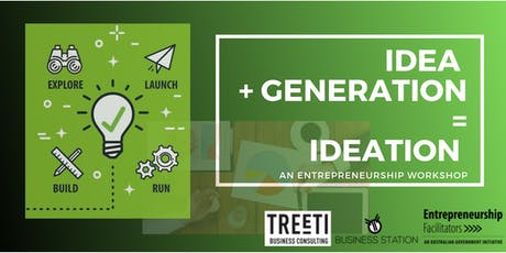 Ideation Workshop - Business idea generation working group - Special Guest Christine Smith - December 2019  tickets