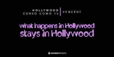 Hollywood Milano Venerdi 6 Dicembre 2019 X Info 392-9848838