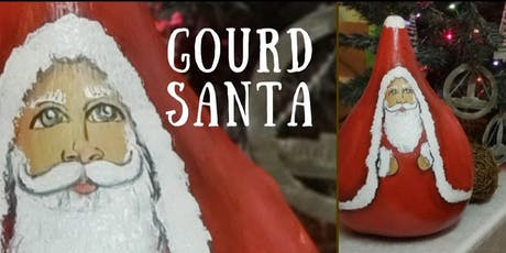 Santa Gourd painting workshop tickets