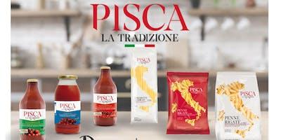 Presentacion y Degustacion de Pasta Italiana  PISCA  en La Plata