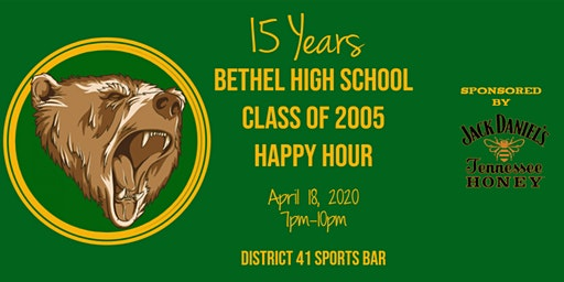 Bethel High School Class of 2005 Reunion Happy Hour!