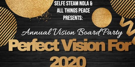 Perfect Vision For 2020 - Vision Board Party tickets