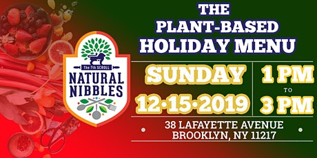The Plant-Based Holiday Menu tickets