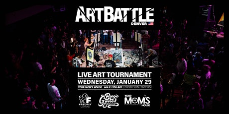 Art Battle Denver - January 29, 2020 tickets
