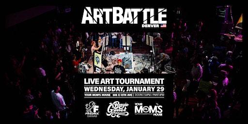 Art Battle Denver - January 29, 2020