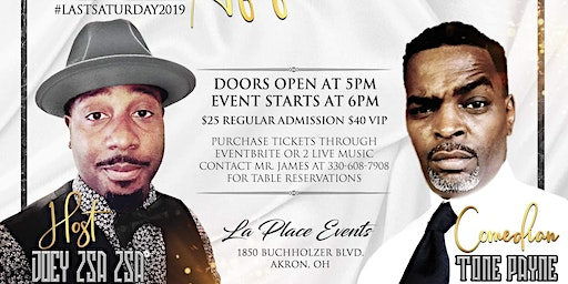 """TONE PAYNE'S """"LIVE TAPED"""" COMEDY SPECIAL"""