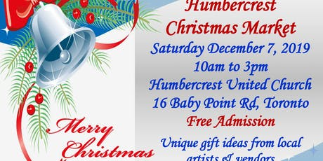 Humbercrest United Church Christmas Market  tickets