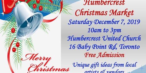 Humbercrest United Church Christmas Market