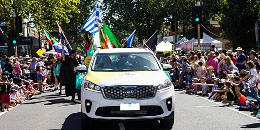 March with Deakin in the 2020 Pako Festa Parade