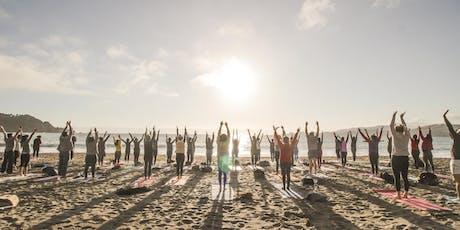 Sunset Beach Yoga with Julianne! tickets