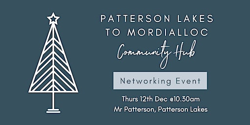 Patterson Lakes to Mordialloc Community Hub networking event