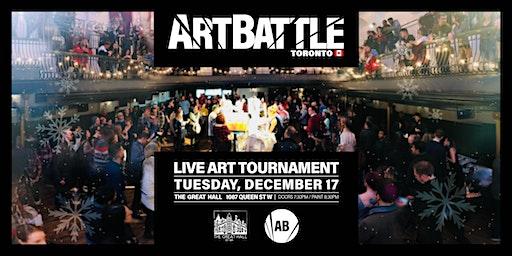 Art Battle Toronto: Holiday All-Stars - December 17, 2019