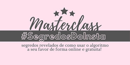Masterclass Segredos do Insta