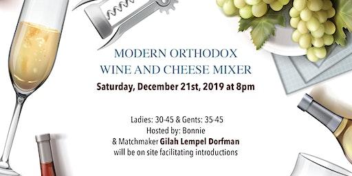Modern Orthodox Wine and Cheese Mixer