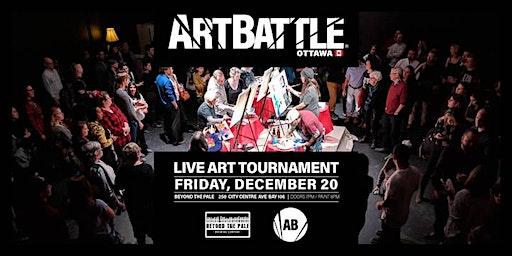 Art Battle Ottawa: Capital Collaboration - December 20, 2019