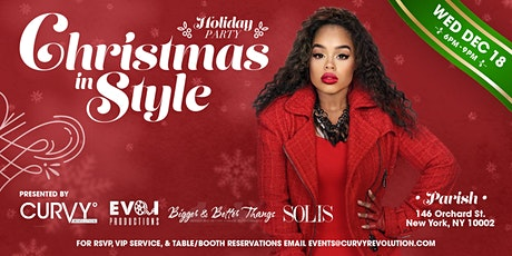 Christmas In Style Holiday Party Hosted By CURVY Revolution & Friends tickets
