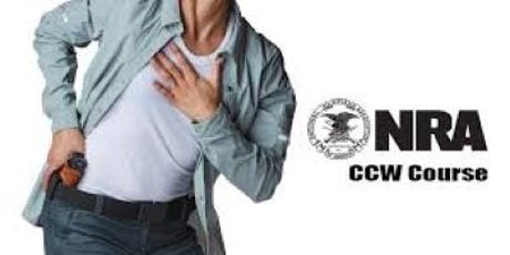 NRA Basic CCW Course tickets