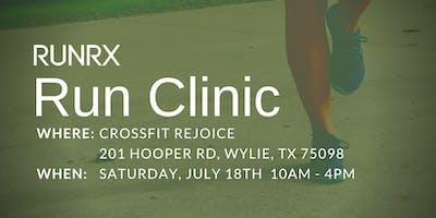 RunRX Clinic Dallas 2020 (July)