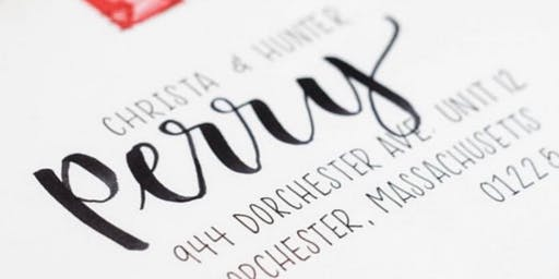 Introduction to Brush Lettering with Addy and Bloom
