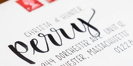Modern Calligraphy with Addy & Bloom