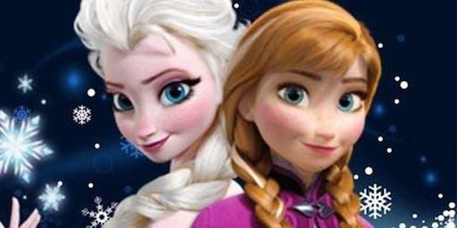 Anna & Elsa visit!