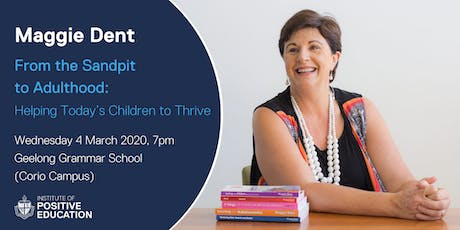 From Sandpit to Adulthood: Helping Today's Children to Thrive (March 2020) tickets