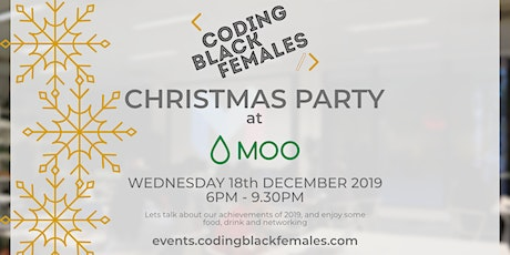 Coding Black Females Christmas Party tickets