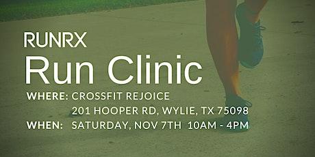 RunRX Clinic Dallas 2020 (Nov)