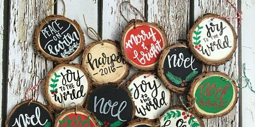 Rustic Ornament Paint Night and Wine Tasting
