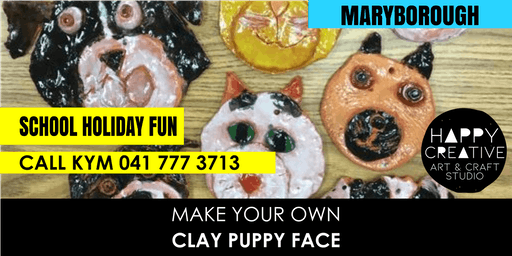 Clay Puppy Face
