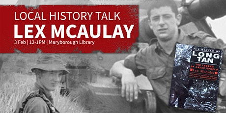 Local History Talk -  presented Lex McAulay - All ages tickets