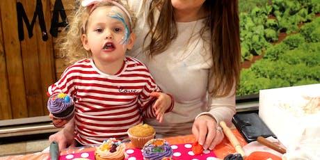 Mermaid Themed Cupcake Decoration tickets