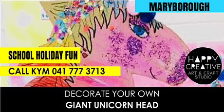 Giant Unicorn Head tickets