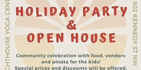 Holiday Party and Open House tickets