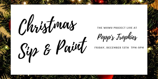 Christmas Paint Party