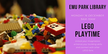 LEGO Playtime @ Emu Park Library tickets