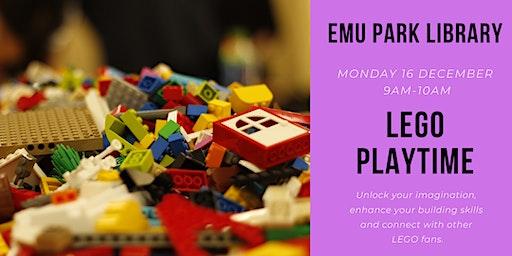 LEGO Playtime @ Emu Park Library