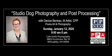 """""""Studio Dog Photography and Post Processing"""" with Danica Barreau tickets"""