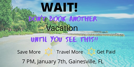 Travel Seminar - Learn How to Travel Like a Pro and Earn on Your Own Travel