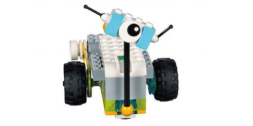 School Holidays: STEAM | Lego WeDo at Stratford Library