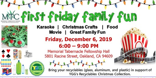 First Friday Family Fun Night: Christmas Edition