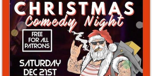 X-mas Comedy Night @ The Elbow Room