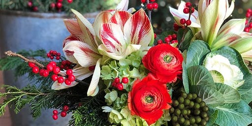Holiday Floral Workshop -Winter Holiday 2019-