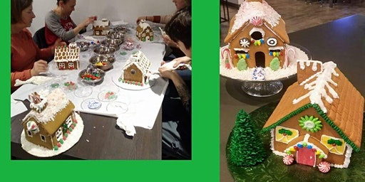 SOLD OUT ~ Gingerbread House Decorating Class