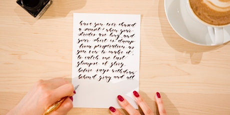 BURNABY Pointed Pen CALLIGRAPHY Workshop (Level 2 of the Workshop Series) tickets
