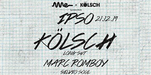 Ame Club apresenta Kolsch - IPSO
