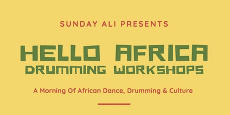 Saturday Sessions - Drumming Workshop tickets