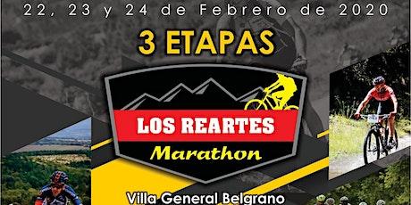 Marathon Los Reartes entradas