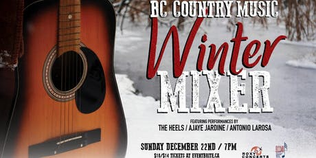 BC Country Music Winter Mixer tickets